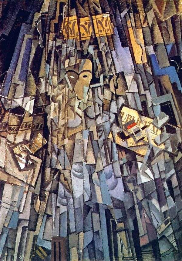 立方体の自画像   サルバドール・ダリ