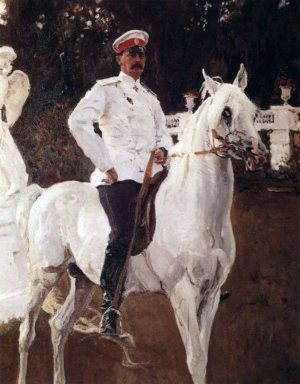 プリンスF. F. ユスポフ   バレンティンセロフの肖像