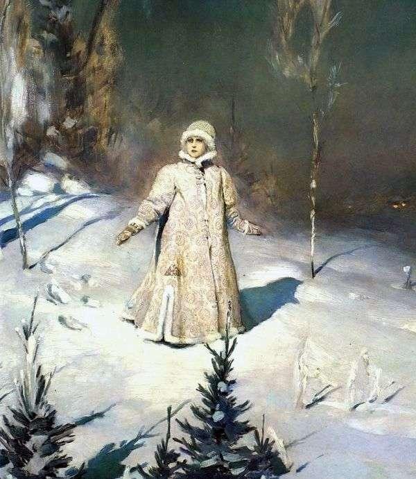 スノーメイデン   Viktor Vasnetsov