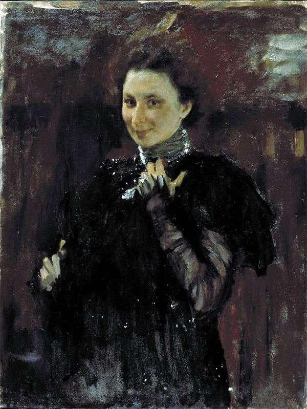 M. K. オリーブ   Valentin Serovの肖像