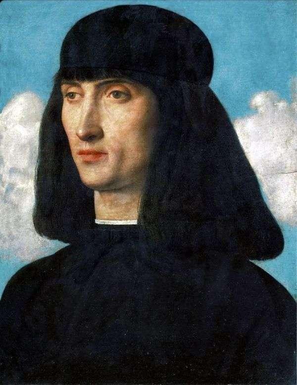 若い男の肖像   Giovanni Bellini