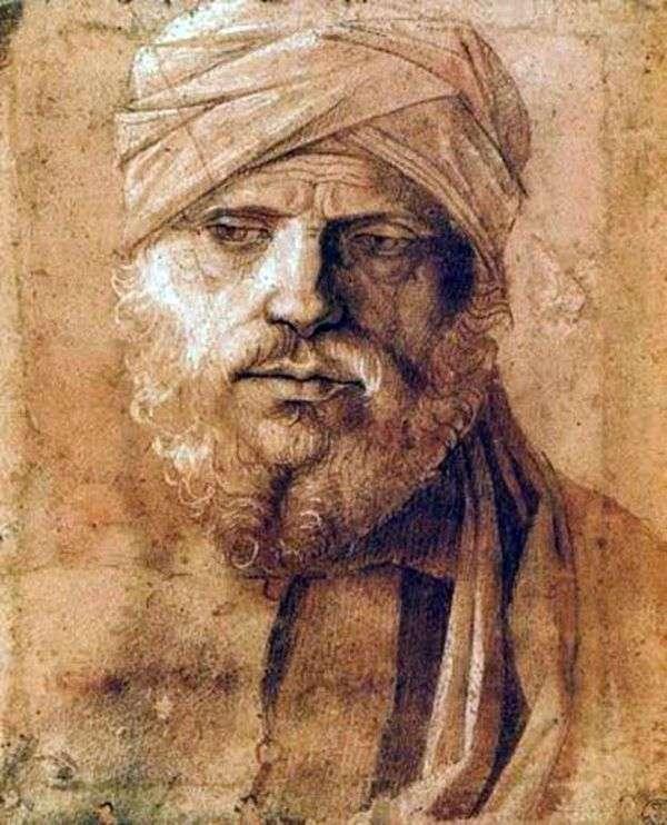 ターバンの男の肖像   Giovanni Bellini