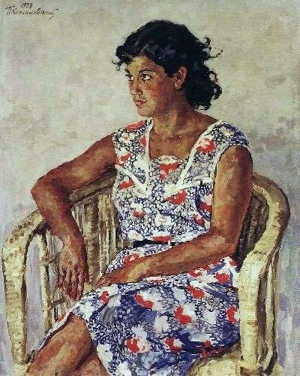 ジュリエット・ペレカチョの肖像   Peter Konchalovsky