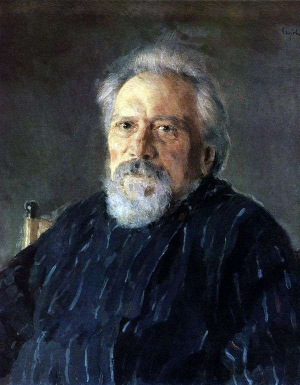 N. S. Leskov   バレンティンセロフの肖像画