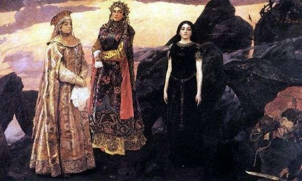 暗黒街の3人の王女   Victor Vasnetsov