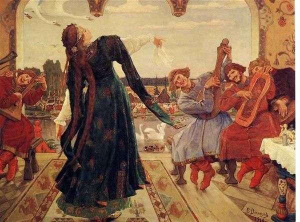カエルの王女   ビクターVasnetsov