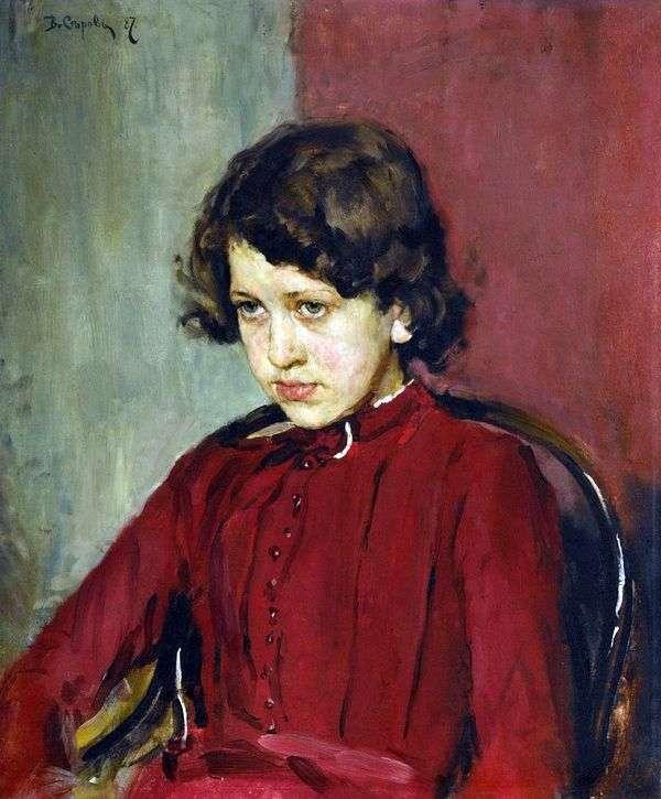 Praskovya Mamontova   バレンティンセロフの肖像画
