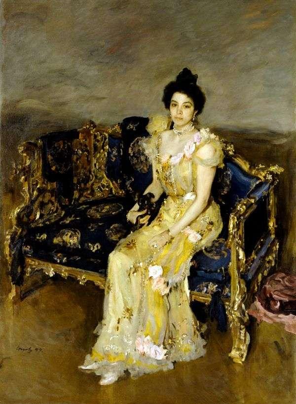 S. M. Botkina   バレンティンセロフの肖像