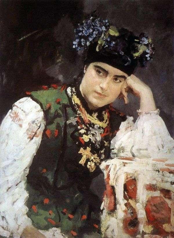 S. M. Dragomirova   バレンティンセロフの肖像