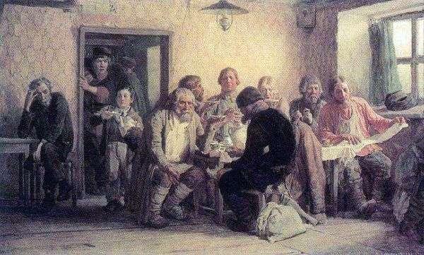 居酒屋でのお茶(居酒屋)   Viktor Vasnetsov
