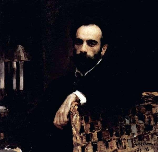 アーティストの肖像I. I. Levitan   Valentin Serov
