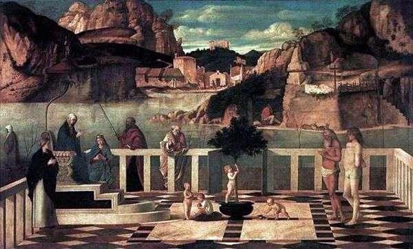 聖アレゴリー   Giovanni Bellini