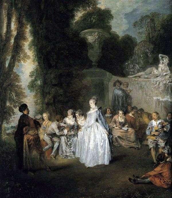 ヴェネツィアの休日   Jean Antoine Watteau