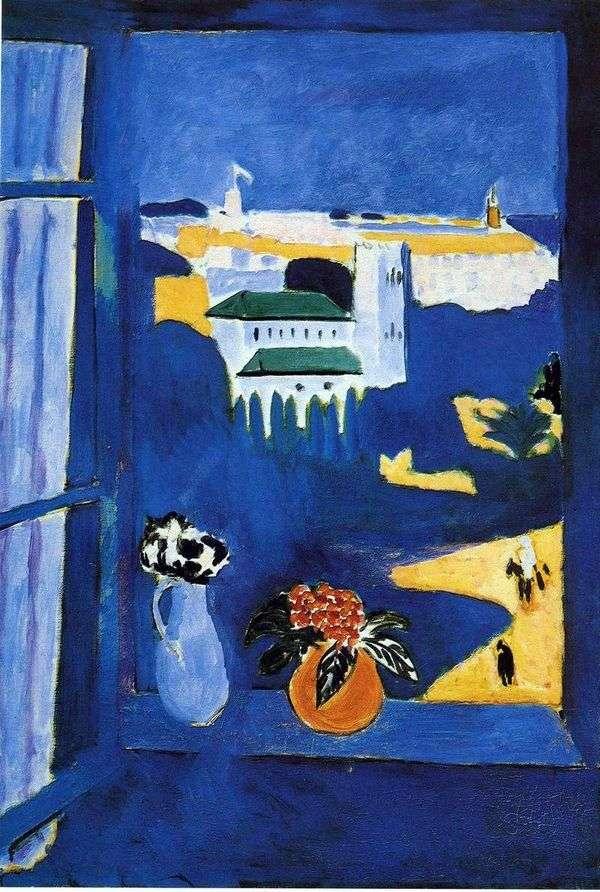 Tangierの窓   アンリ・マティス
