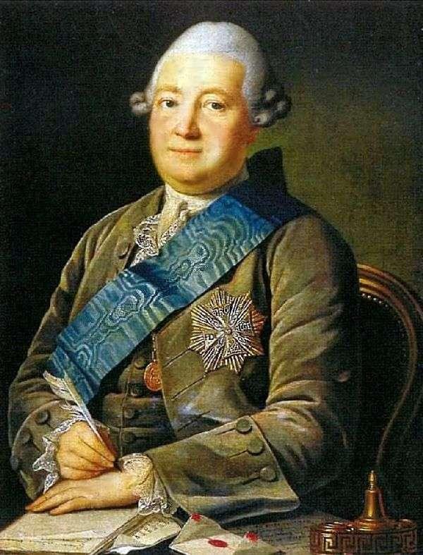 アダムVasilyevich Olsufiev   カールLudwig Khristinekの肖像