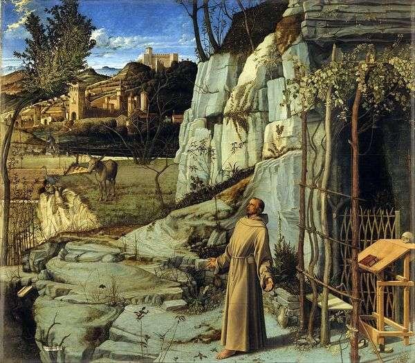 聖フランシスのエクスタシー   Giovanni Bellini