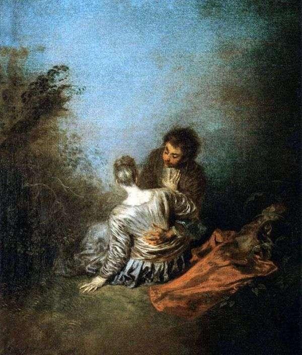 致命的なミス(運)   Jean Antoine Watteau