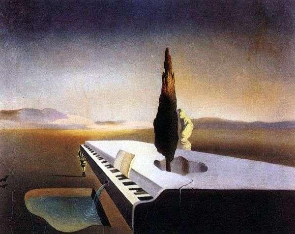 コード上のピアノから採点したNecrofilの情報源   Salvador Dali