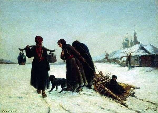 冬の村で   Alexey Korzukhin