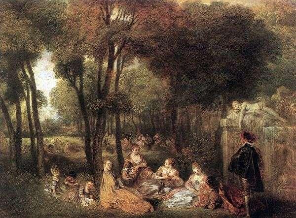 エニセイフィールズ   Jean Antoine Watteau