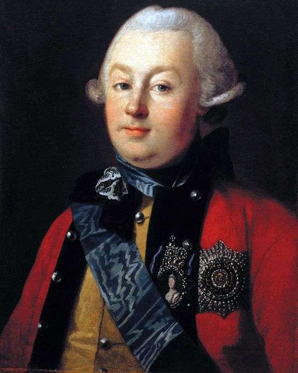 プリンスG. G. オルロフの肖像   カールルードヴィッヒHristinek