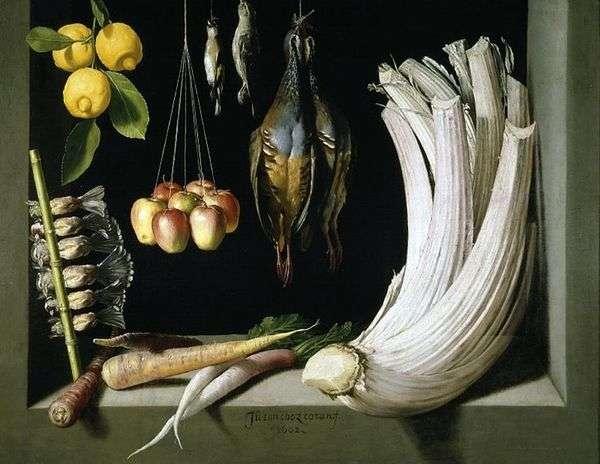 ゲーム   野菜とレモンのある静物、サンチェスフアンコタン