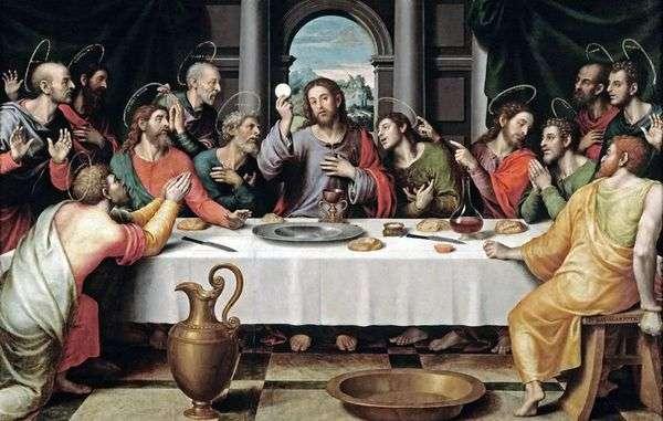 最後の晩餐   Juan de Juanes