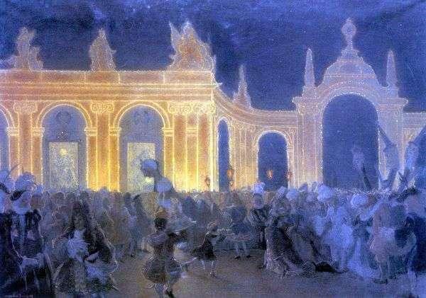 ルイ15世の仮面舞踏会   アレクサンダーブノワ
