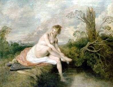 ダイアナバイザクリーク   Jean Antoine Watteau