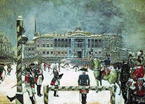 Paul I   Alexander Benoitの治世のパレード