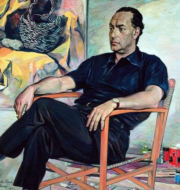 Renato Guttuso   Pavel Korinの肖像画