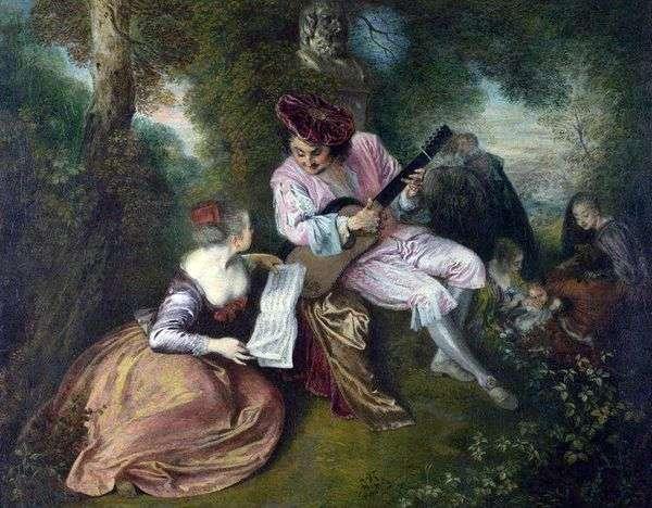 Love Gamma   Jean Antoine Watteau