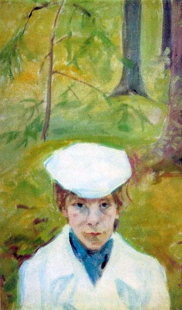 E. G. Guro   Mikhail Matyushinの肖像