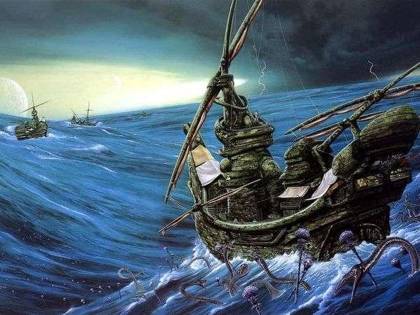 Ocean Grimaces   ジムバーンズ