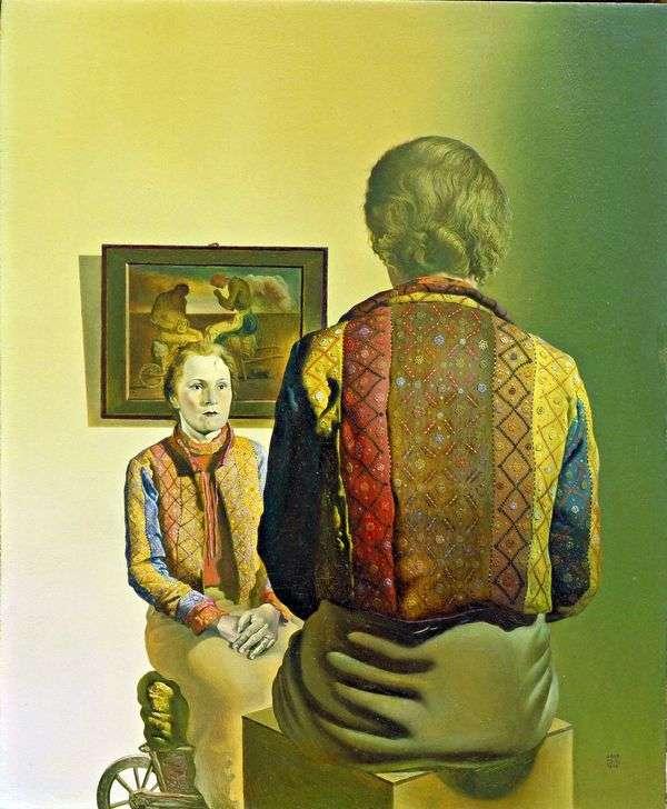 ガラ   サルバドール・ダリの肖像
