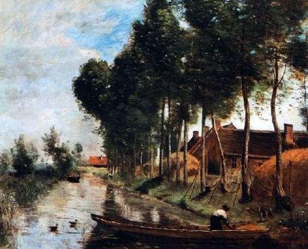 アルルデュノール   カミーユコローの風景