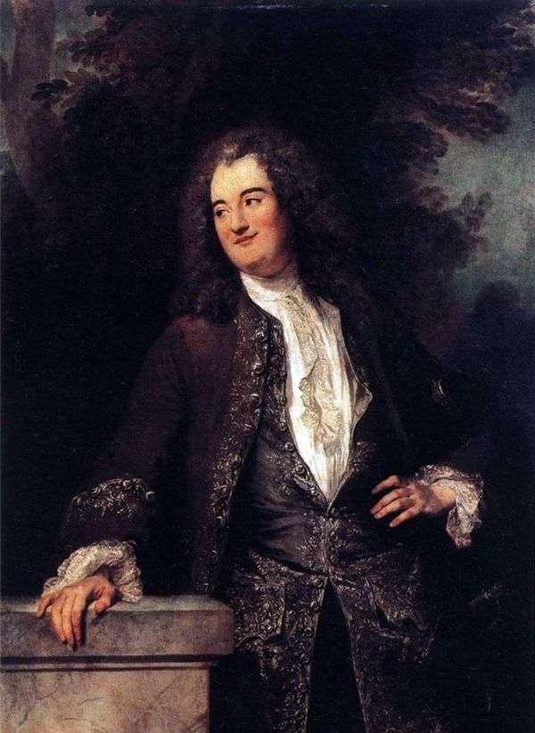 紳士の肖像   Jean Antoine Vatto