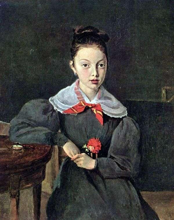 Octavia Sennegon   カミーユコローの肖像