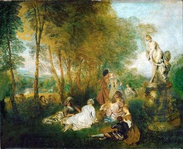 愛の饗宴   Jean Antoine Watteau