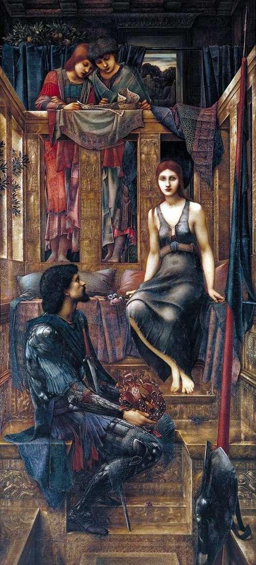 Kofetua王と物乞いの少女   Edward Burne Jones