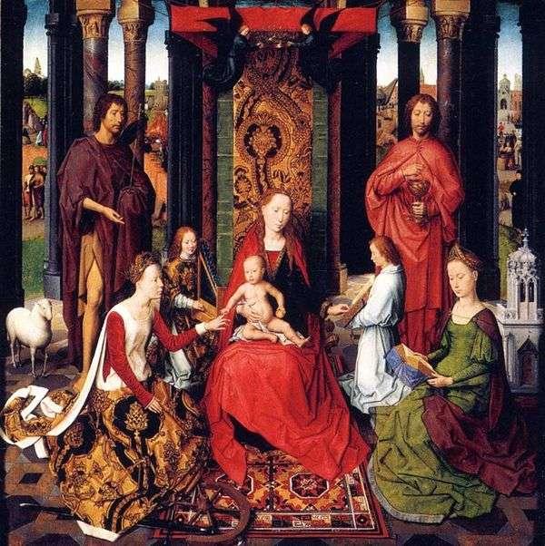 二人のヨハネスの祭壇   ハンス・メムリング