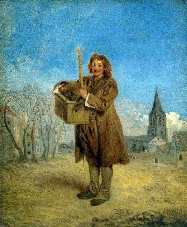 マーモットとサヴォヤ   Jean Antoine Watteau