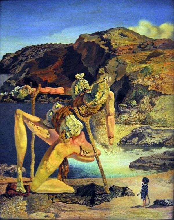 性的魅力のゴースト   Salvador Dali