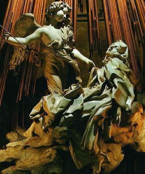 聖テレジアのエクスタシー   ロレンツォ・ベルニーニ