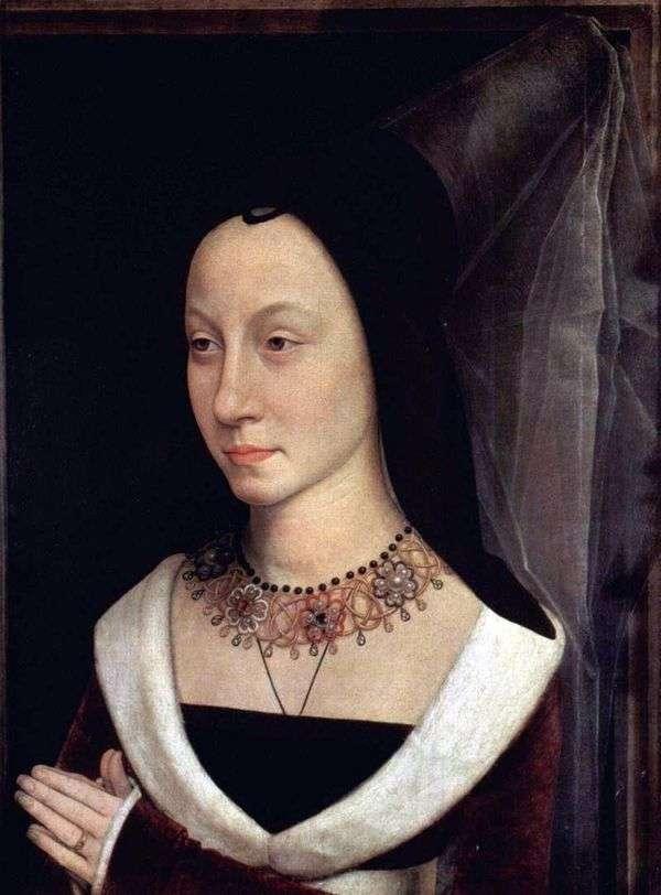 Maria Baroncelli   Hans Memlingの肖像