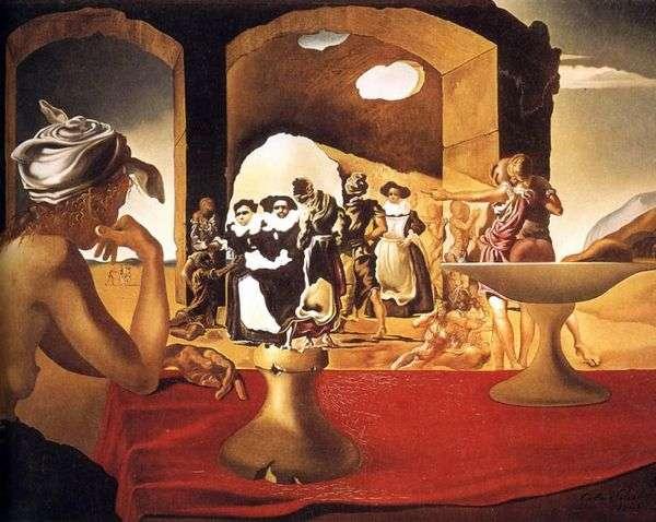 ウォルターの姿が消えた奴隷市場   Salvador Dali
