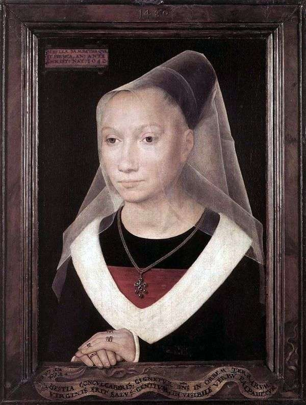 Maria Morel   Hans Memlingの肖像