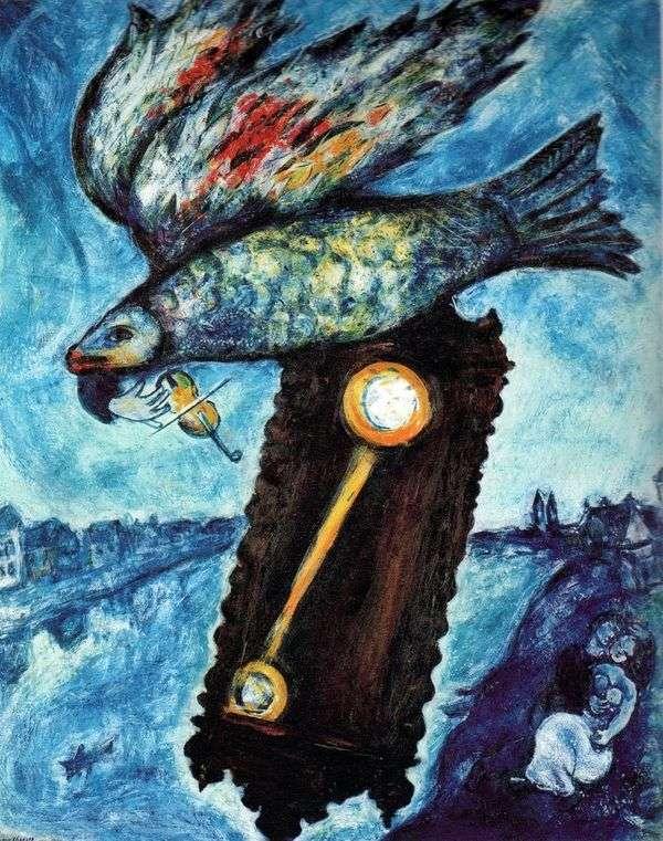 時は土手なしの川   Marc Chagall