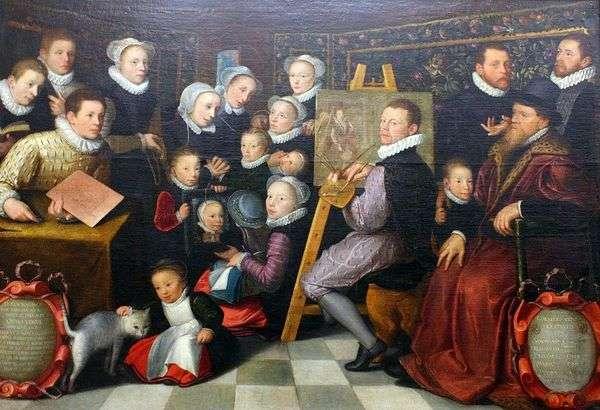 家族とのセルフポートレート   Otto van Veen