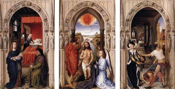 洗礼者聖ヨハネの祭壇   Rogier van der Weyden